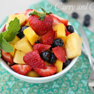 Pineapple Mango Fruit Salad Recipes.