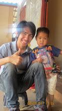 Photo: Arm with Werapat (Kachin boy)