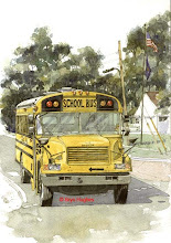 Photo: Brighton Mi - School Bus