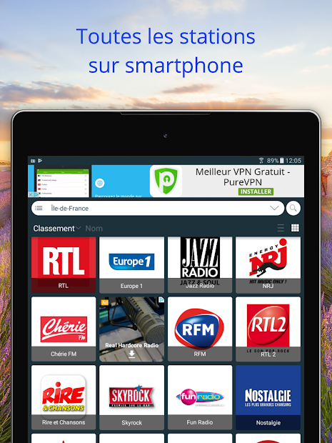 Radios France: FM Radio and Internet Radio