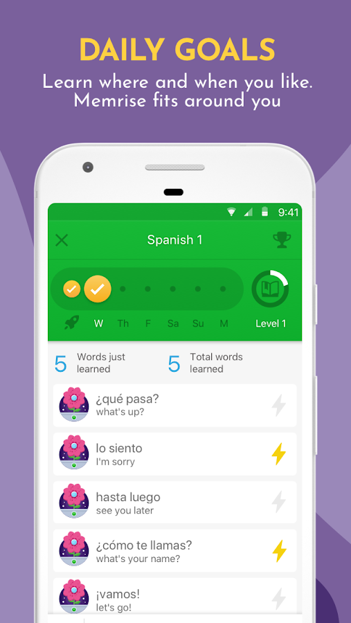 Learn Languages with Memrise- screenshot