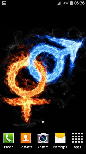 玩個人化App|火與冰動態壁紙免費|APP試玩
