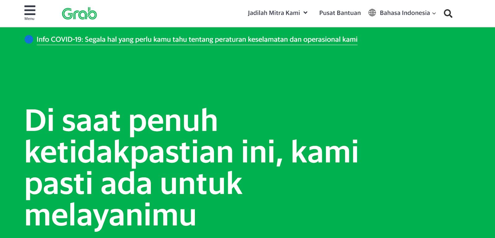 contoh trend web design minimalis