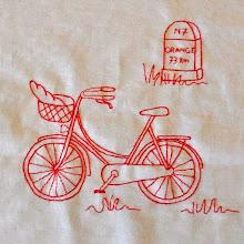 Photo: Bicyclette RN7 Thérèse