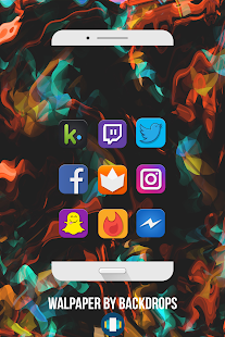 DmonD Icon Pack 💎 Screenshot