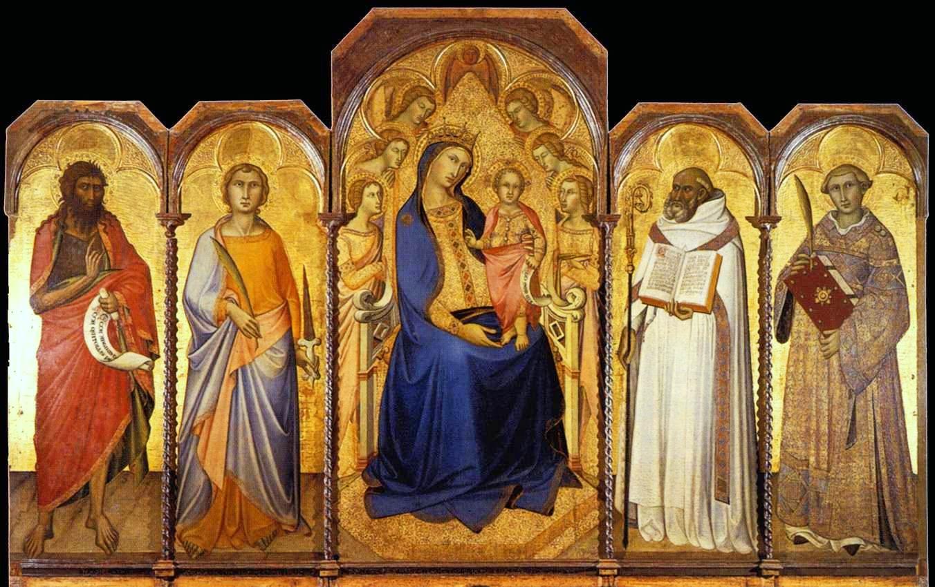 Child with Saints.1362.