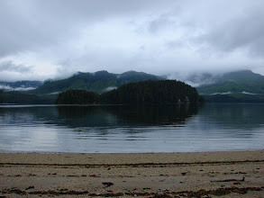 Photo: Entrance Island in Hobart Bay.