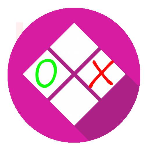 Tic Tac Toe Material Design 棋類遊戲 LOGO-玩APPs