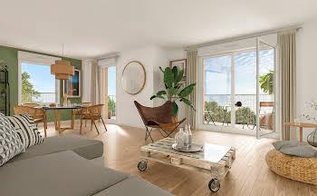 Appartement 2 pièces 46,9 m2