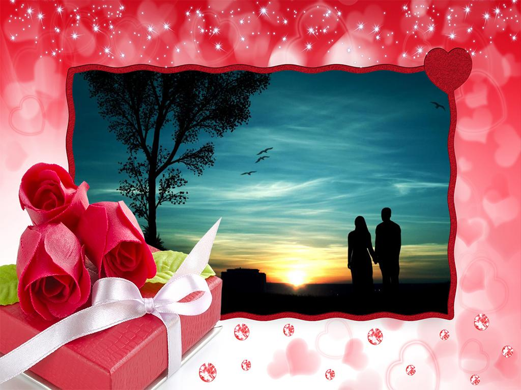 Beautiful Roses Photo Frames- screenshot
