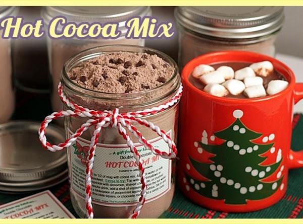 Double Chocolate Hot Cocoa Mix Recipe