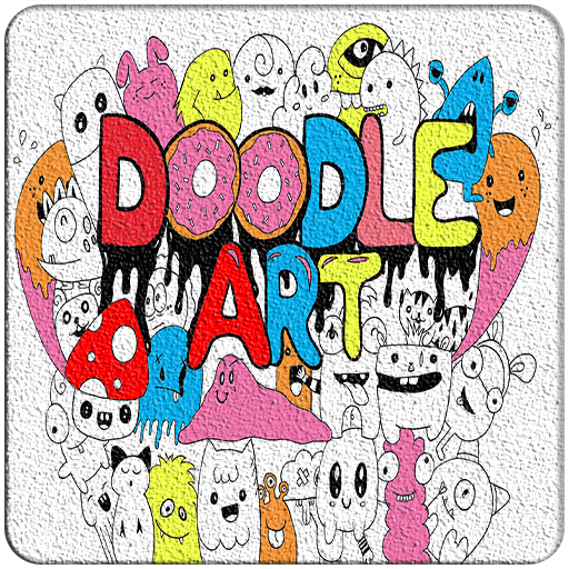 Learn to Draw a Colored Doodle