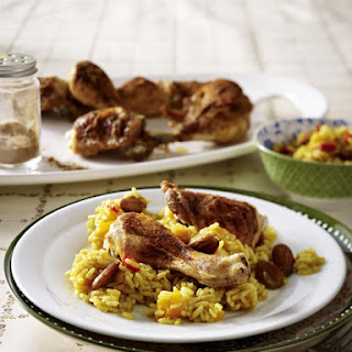 Paprika Chicken with Fragrant Rice