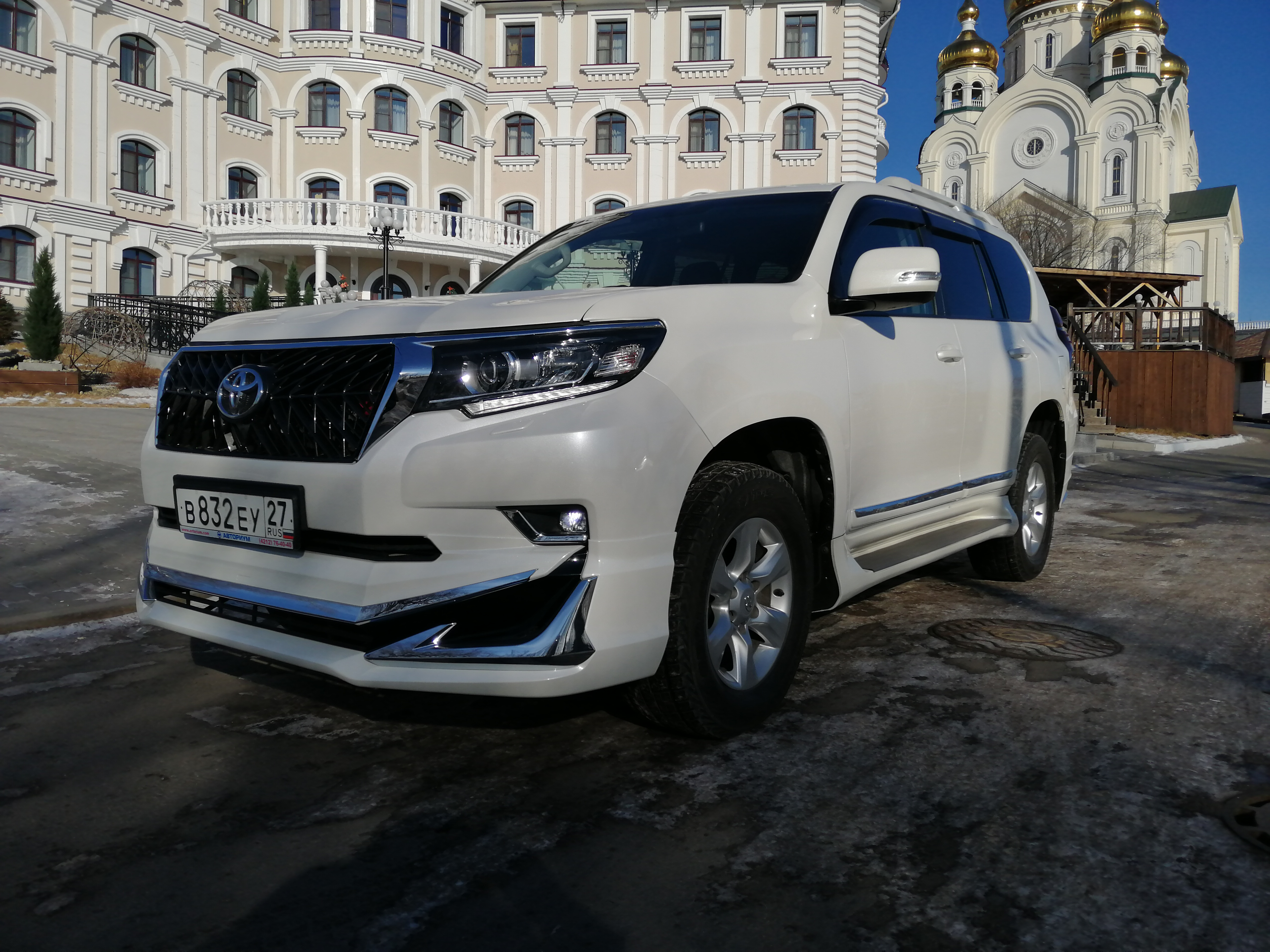 Toyota Land Cruiser Prado в Хабаровске
