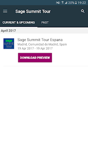 Sage Summit Tour- screenshot thumbnail