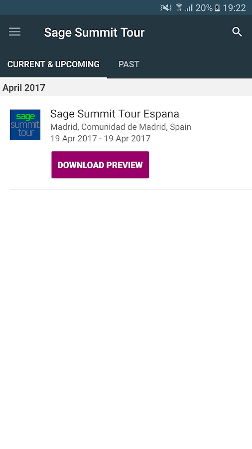 Sage Summit Tour- screenshot