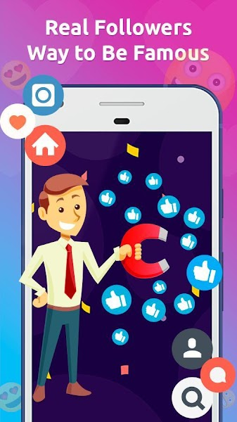 Followers for Instagram and Likes for Ig : Tagtup+