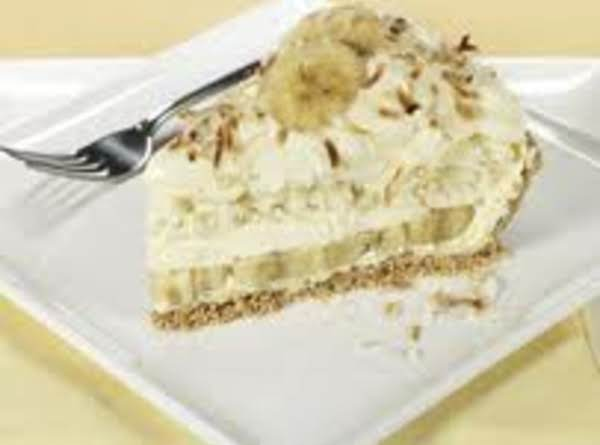 Banana Coconut Cream Pie Recipe