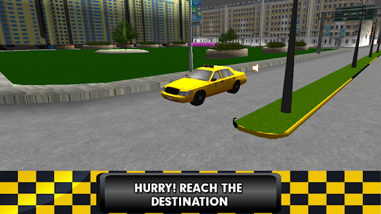 Taxi Simulator Parking Games - náhled