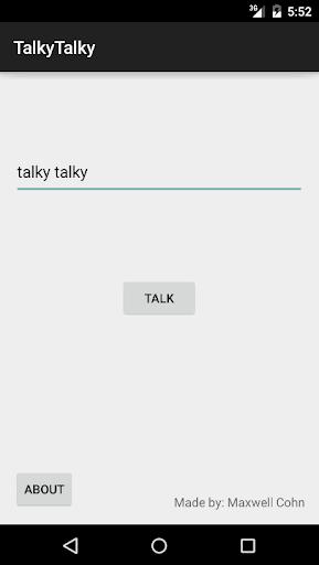 TalkyTalky