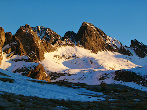 Photo: Svahy Velké Studené doliny, vpravo Priečné sedlo (2352 m)