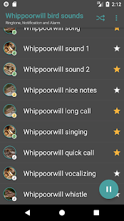 Appp.io - Whippoorwill Sounds - náhled