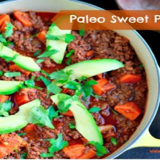 Paleo Sweet Potato Chili.