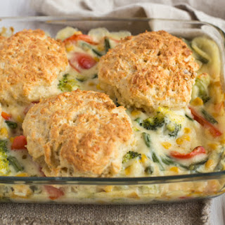 Vegetable Cobbler Recipe