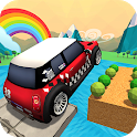 Impossible Climb Stunt Driving: Tricky Car Tracks icon