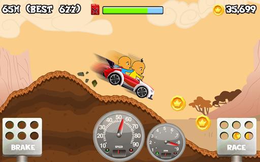 Upin Hill Race Games 1.0 screenshots 2