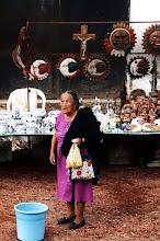 Photo: Cholula, kram z pamiątkami / Souvenris stall
