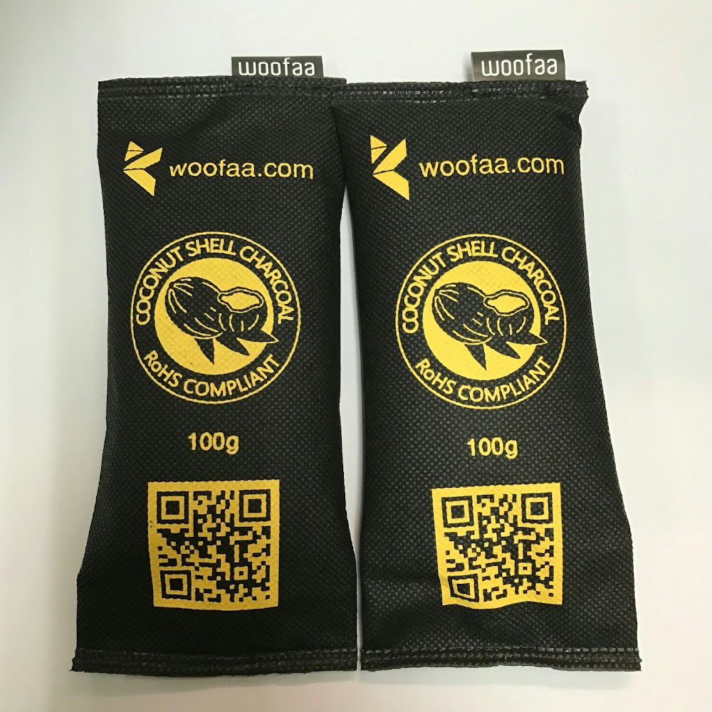 WOOFAA - 椰殼活性碳空氣淨化包/炭包