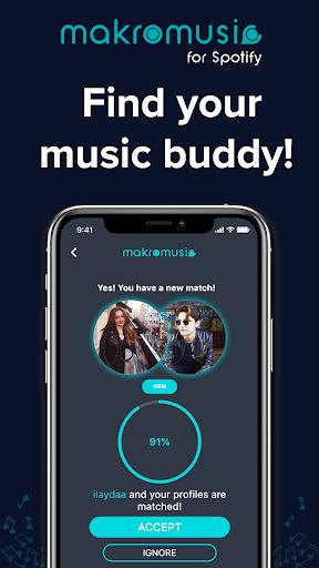 makromusic for Spotify 1.1.0 screenshots 1