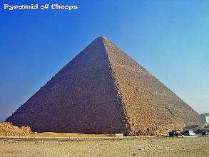 Photo: De grote piramide van Cheops