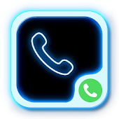 CSD Blue Neon Dialer Theme HD