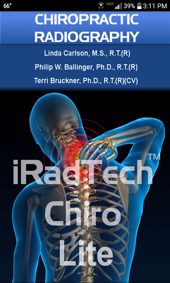 iRadTech Chiro Lite- screenshot