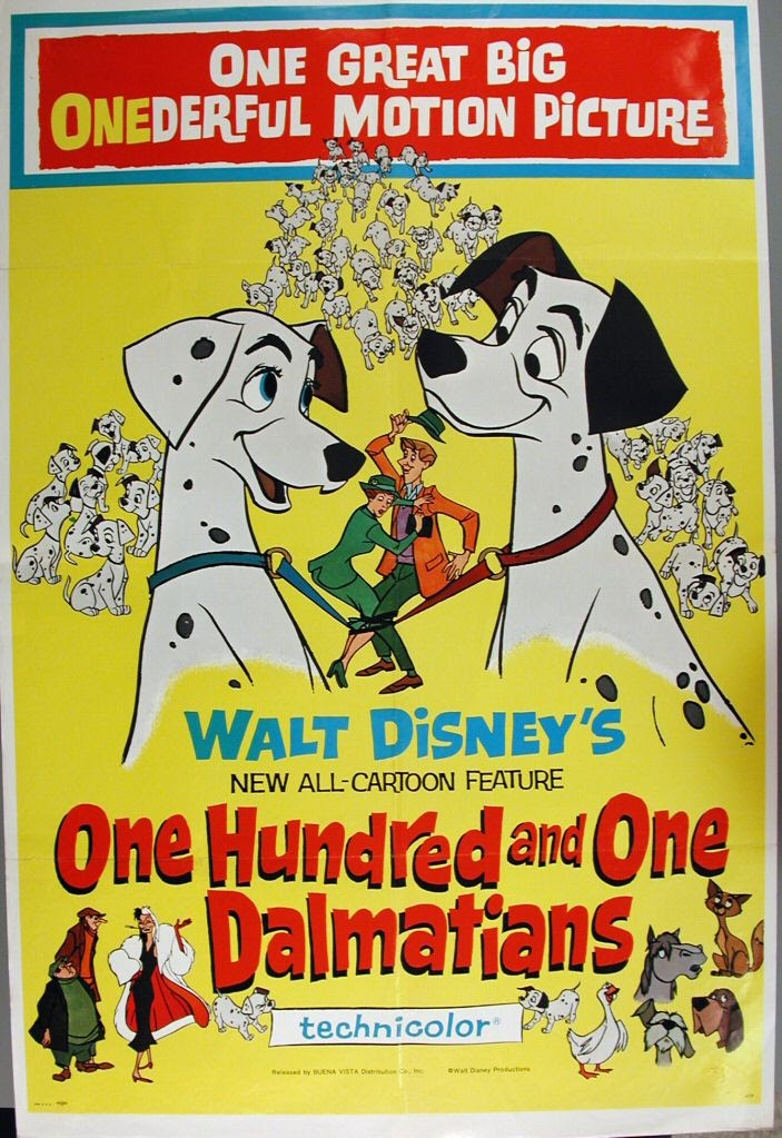 Poster 101 Dalmatians One Hundred And One Dalmatians Walt Disney Google Arts Culture