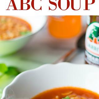 Mexican ABC Soup (Sopa De Letras)