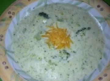 Easy Cream of Broccoli Soup