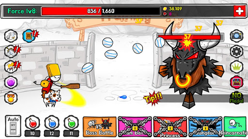 StickMan Hero TAP TAP 1.0 Mod screenshots 1