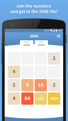 2048 Original · Offline Mode - screenshot