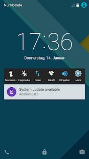 Schnell Einstellungen-Schaltet Screenshot