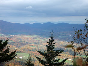 Photo: Long Trail, Vermont backpacking trip