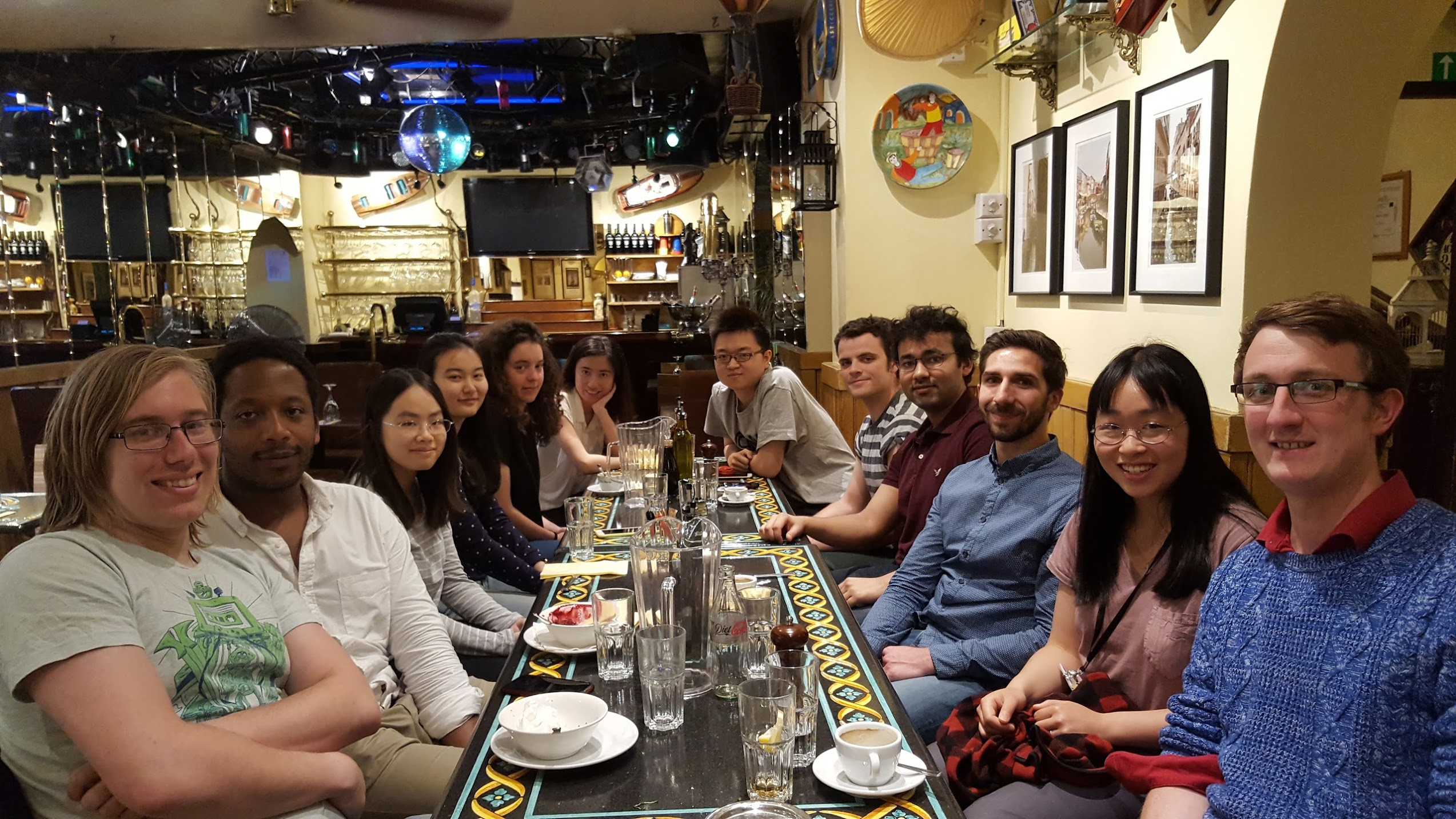 Group Lunch Photo (10/06/2016)