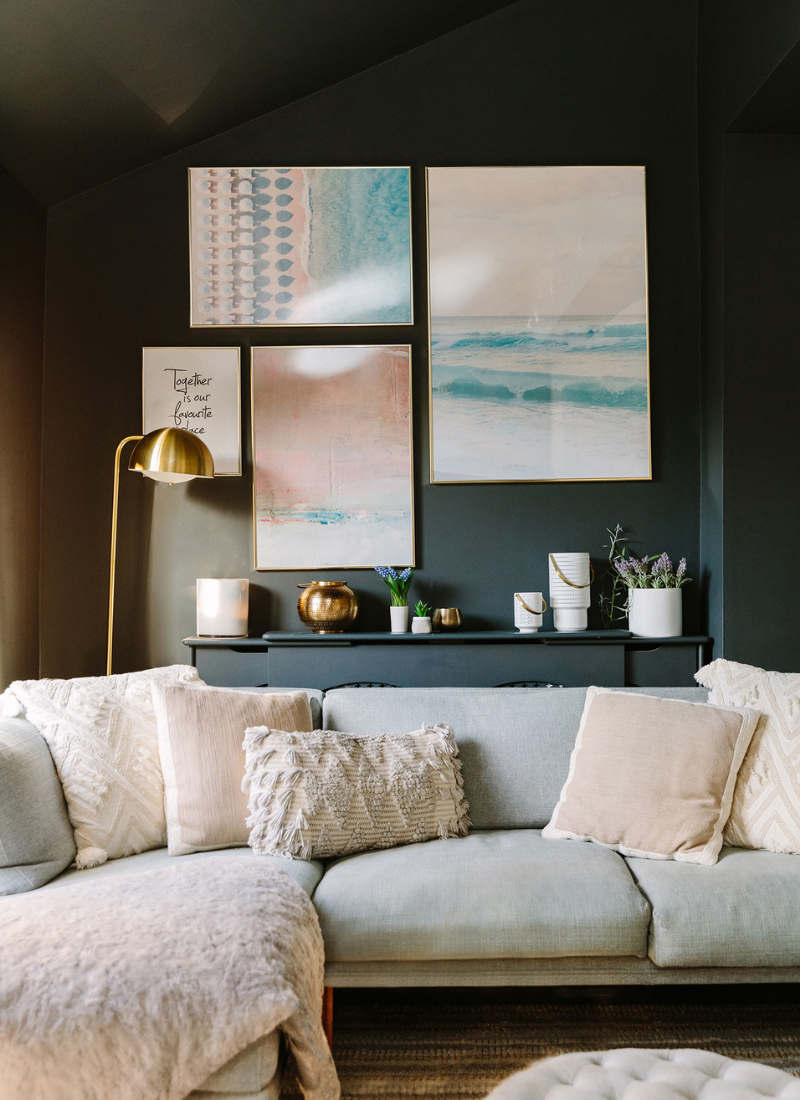 steps to decorating a new home