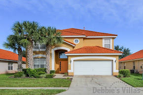 Orlando villa, private pool and spa, games room, close to Disney theme parks, gated community
