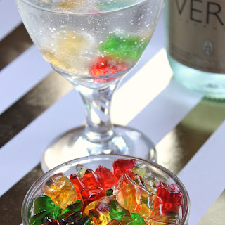 Champagne Soaked Gummy Bears Recipe