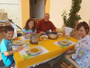 Photo: S dětmi s Míšou
