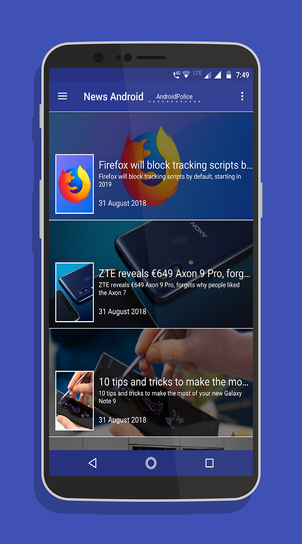 News android - news for android - news on android APK Cracked Free