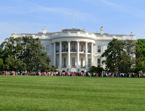 Photo: View from the South Lawn again, after the grounds were opened to the public for the Spring Garden Tour 2012